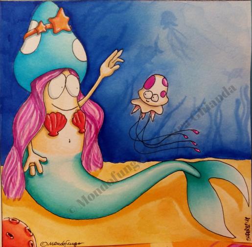Fungo sirena 2 © Laura Ghianda