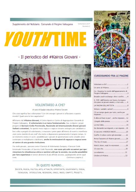 youthtime copertina