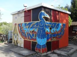 Angolo Nord Ovest Salgared'Art, lettering © Laura Ghianda