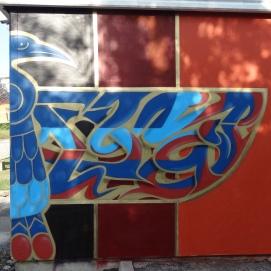 Parete Ovest Salgared'Art, dettaglio destra del lettering © Laura Ghianda